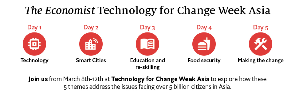 Technology for Change Week Asia: Applying technology for the social good